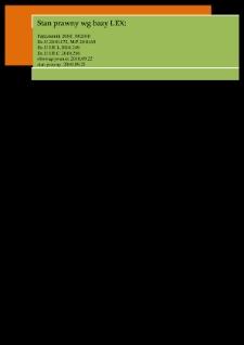 Przepisy dotyczące sekcji zwłok : materiały dydaktyczne
