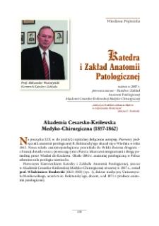 Katedra i Zakład Anatomii Patologicznej - Warszawski Uniwersytet Medyczny