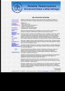 Polskie Towarzystwo Orzecznictwa Lekarskiego (PTOL)