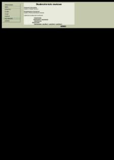 Studenckie Koła Naukowe : Genetyczne Koło Naukowe, Parazytologiczne Koło Naukowe - Katedra Biologii Ogólnej i Parazytologii Warszawskiego Uniwersytetu Medycznego
